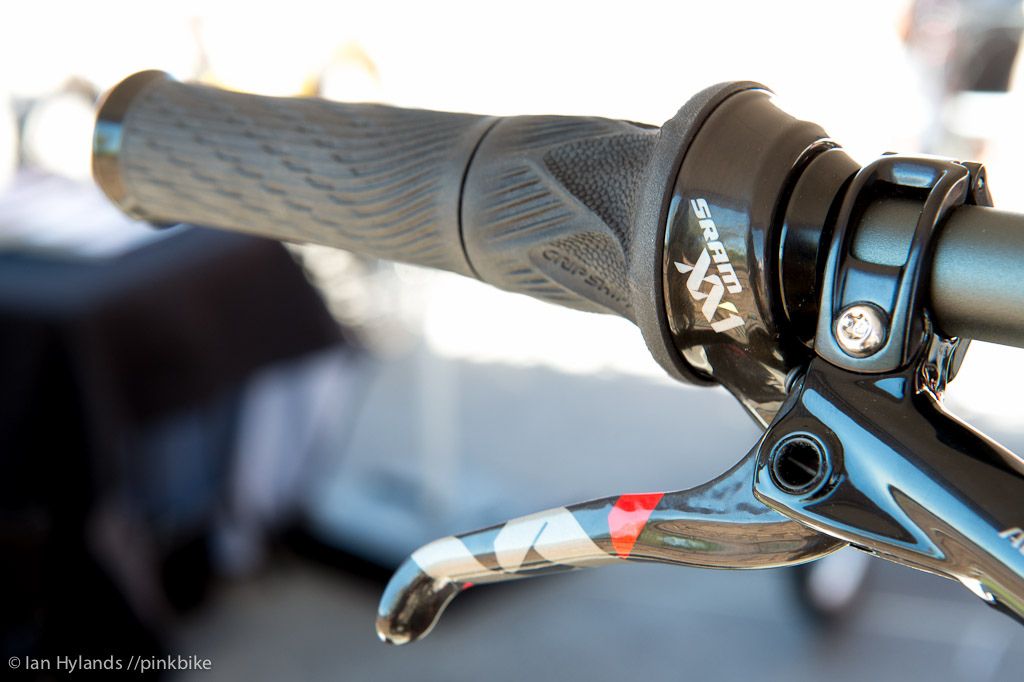 The new SRAM XX1 coming soon to a shop near you. Even the new Grip Shift shifters...