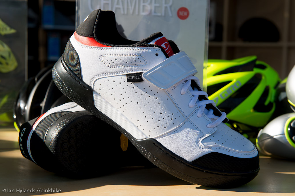 The Chamber from Giro a new shoe made in collaboration with Aaron Gwin.