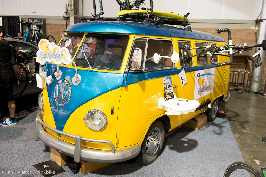 Sea Sucker also had a VW window van on display.