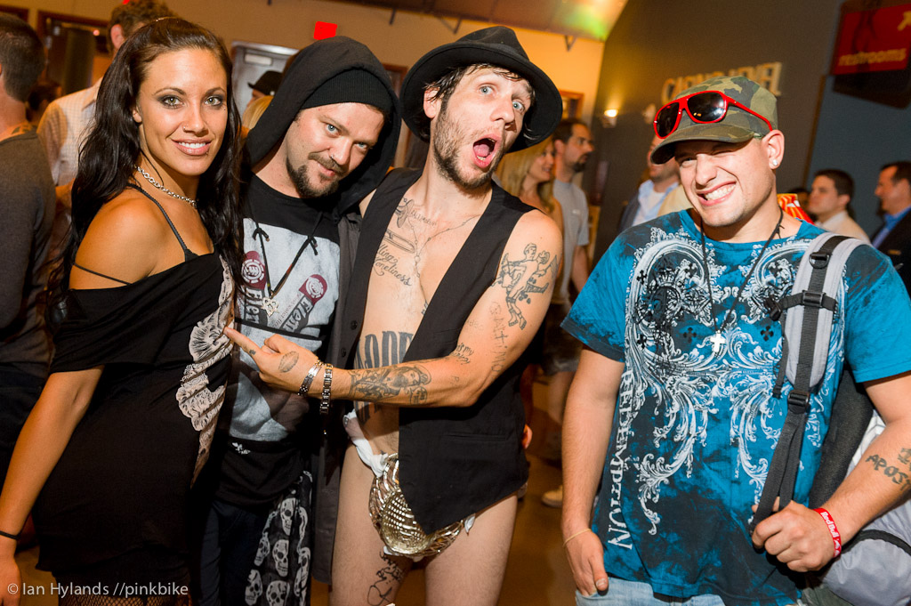 Bam Margera and friends