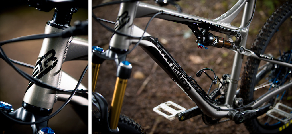 Integration is a running theme with the Aurum.  Fork bump stops, clean hardware, and seat post binder show the forethought Norco has put into their new DH sled.