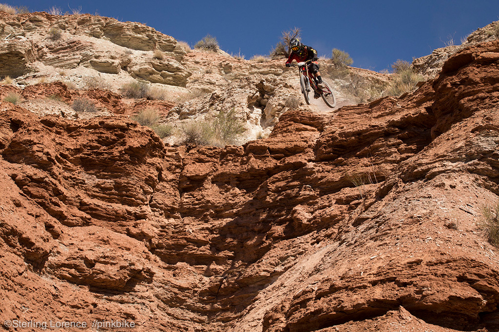 Cam s step down just before the canyon