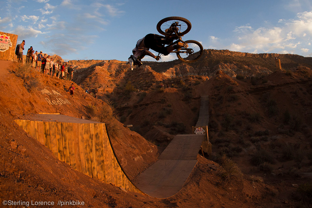 Rheeder super amped to have made the finals and practising hard to write into the history at Rampage.