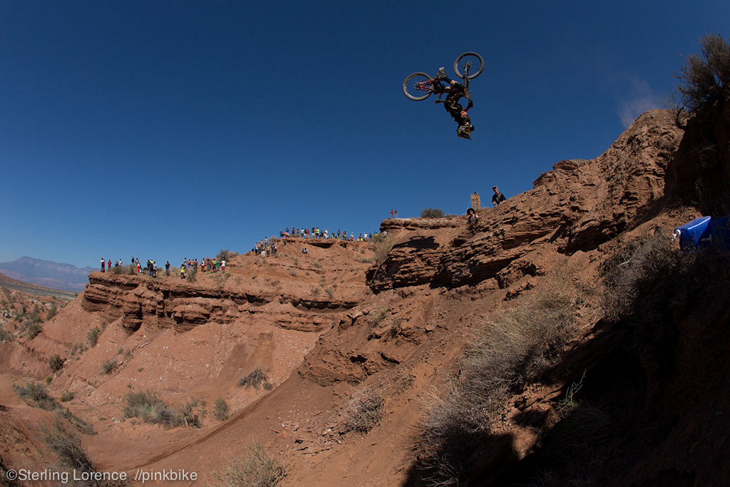 2012 Rampage best trick by Cam McCaul foot step down.