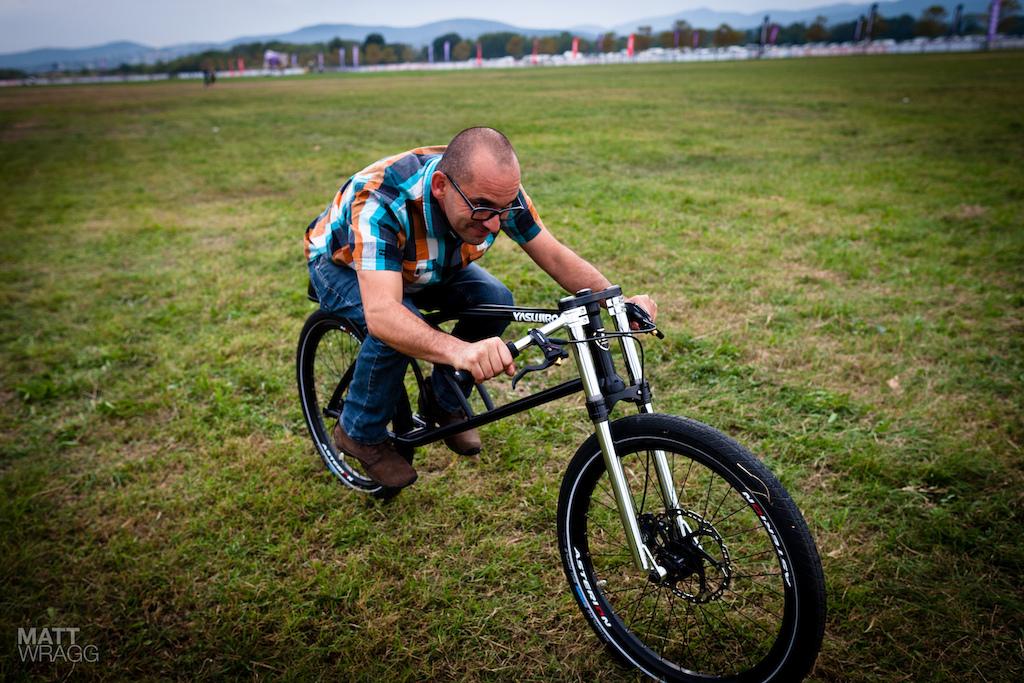 Yasujrio Speedbike in action sort of...