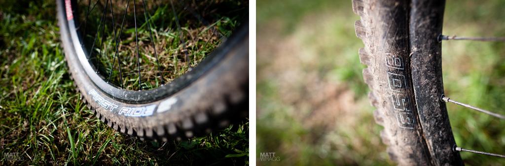 Schwalbe tyre details
