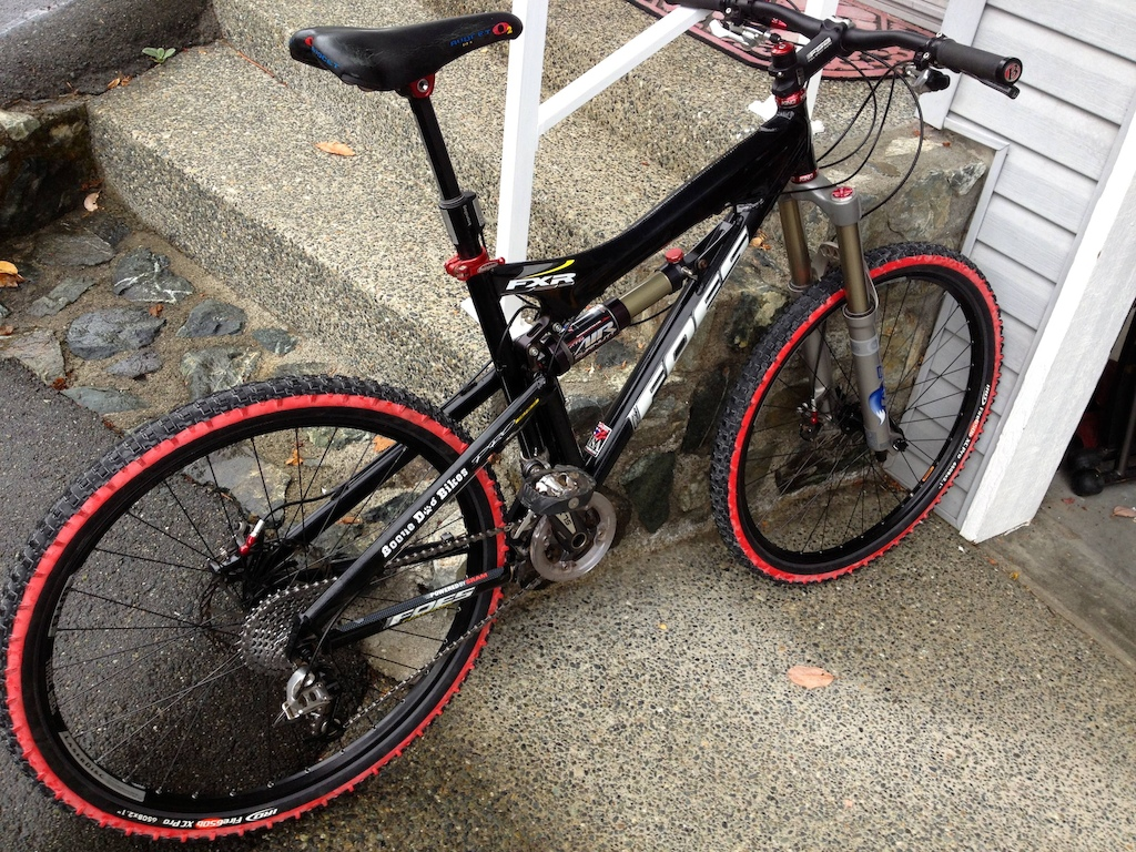 650b WTB/IRD Fire 2.1 wheel set - clearance tested and mounted, now time see how she rides!