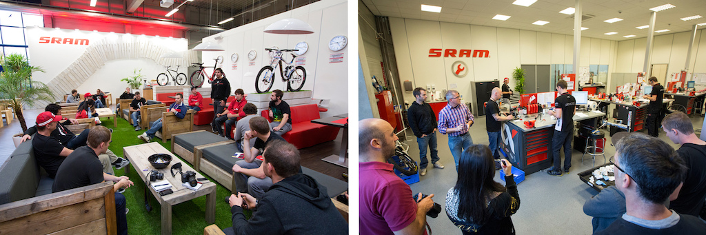 SRAM XX1 at their DTC facility in Schweinfurt Germany. Photo by Sebastian Schieck.