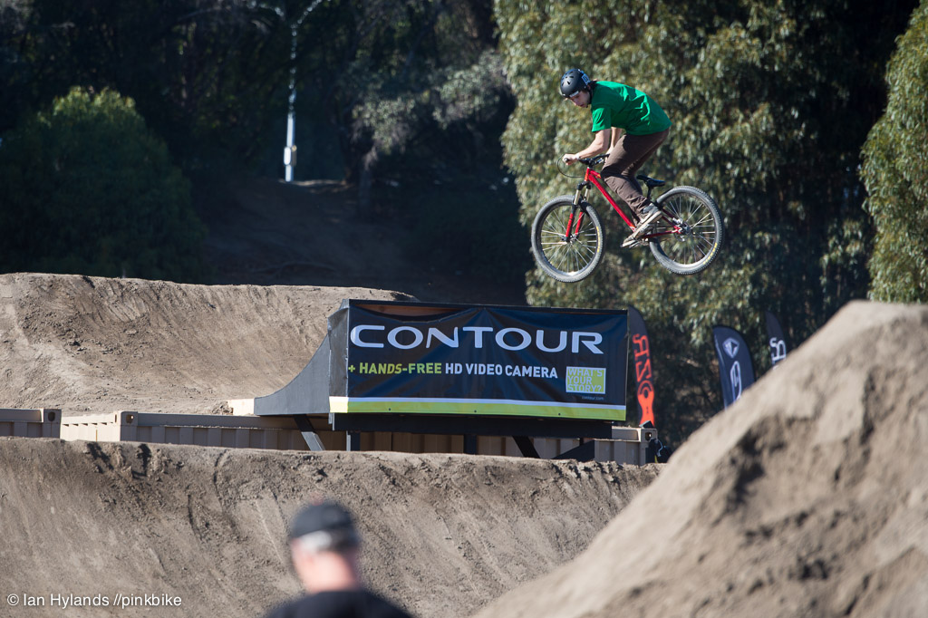 Reece Wallace really stepped it up today and impressed pretty much everyone. Fourth place overall...