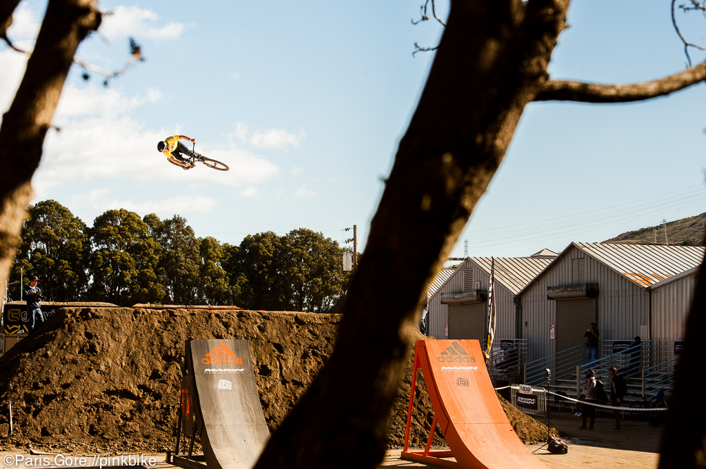 Casey Groves putting down the biggest 360 s of the entire weekend.