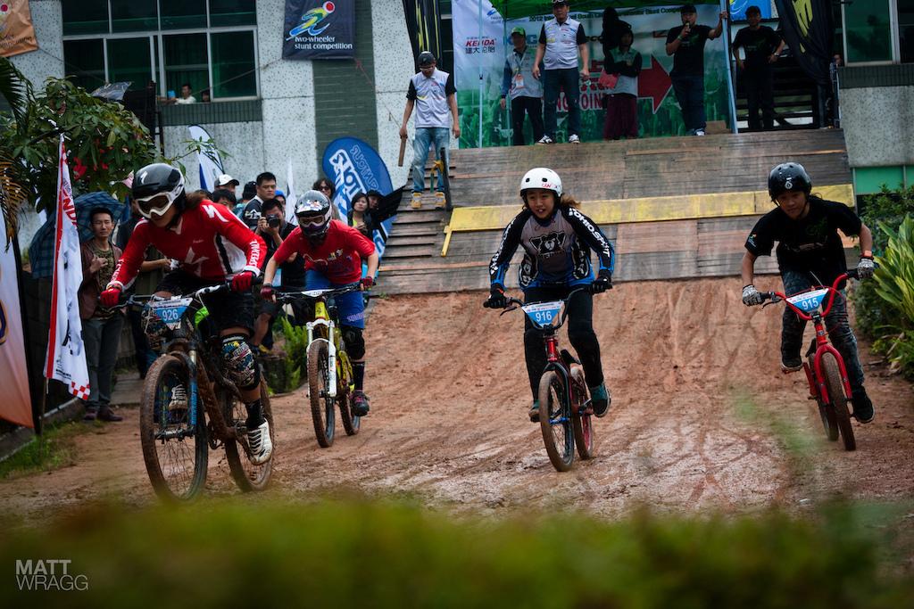 The 4X race.