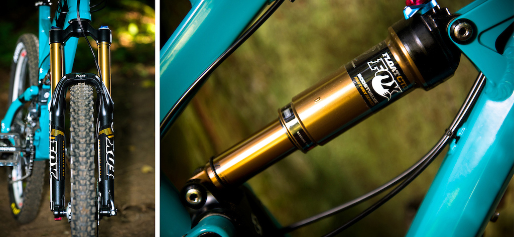 Switch Technology promises the best of uphill and downhill performance with an eccentric link that switches direction. Seem complicated? It isn't. Fox Float CTD air shocks front and rear offer a range of compression settings for those who want a firmer pedaling platform for longer climbs.