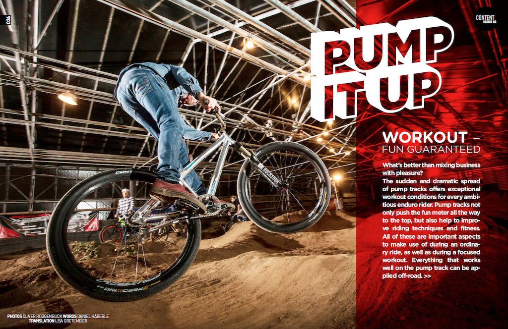 Pump Track Enduro Mountainbike Magazine