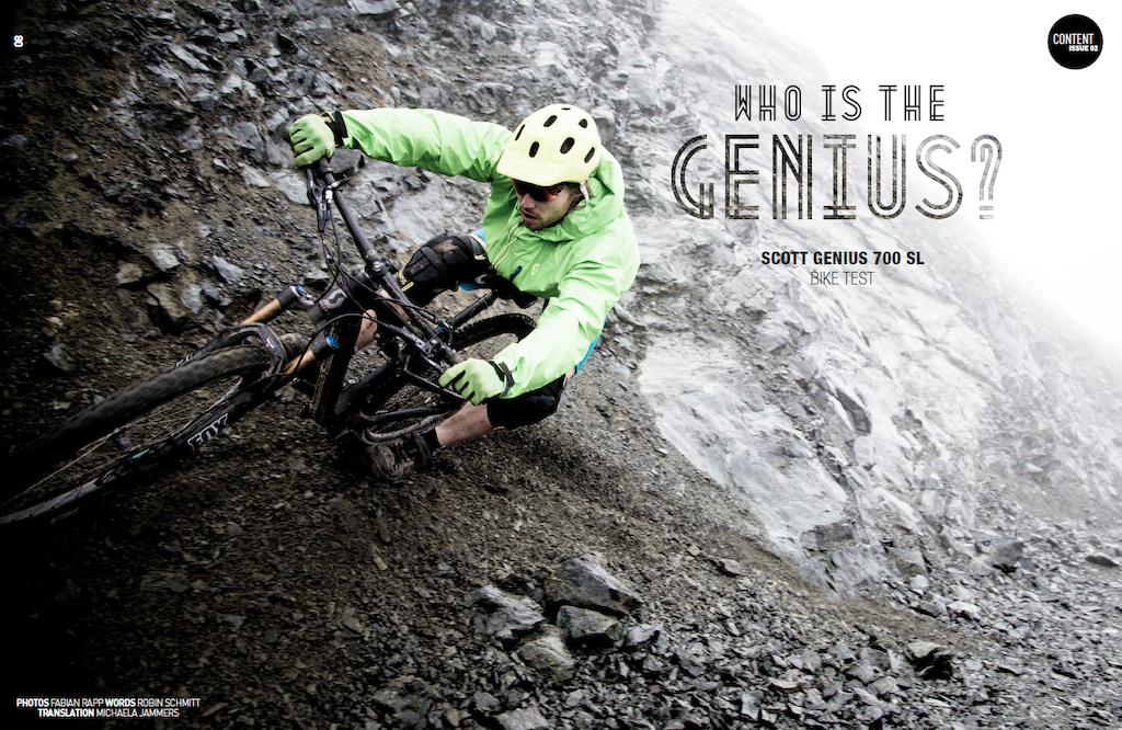 Scott Genius Bike Test