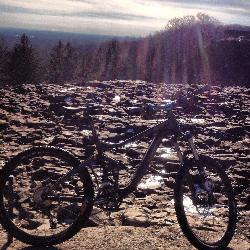 Long ride today to hilltop reservation
