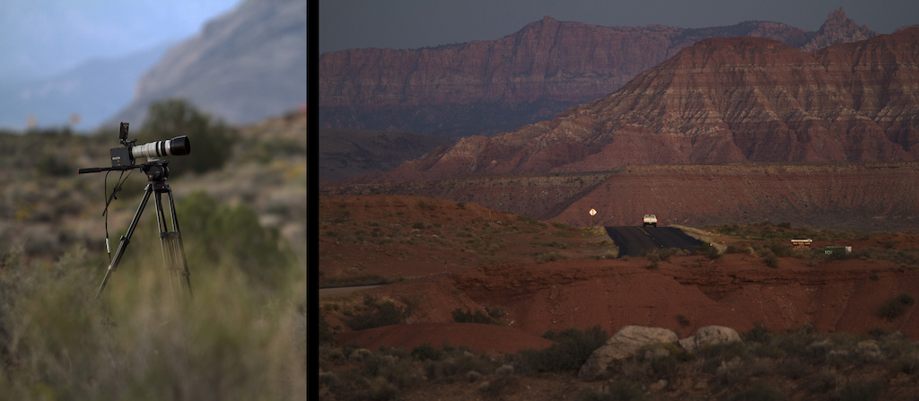 The spectacular landscape of Southern Utah