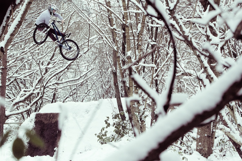 360 unturndown in the snow