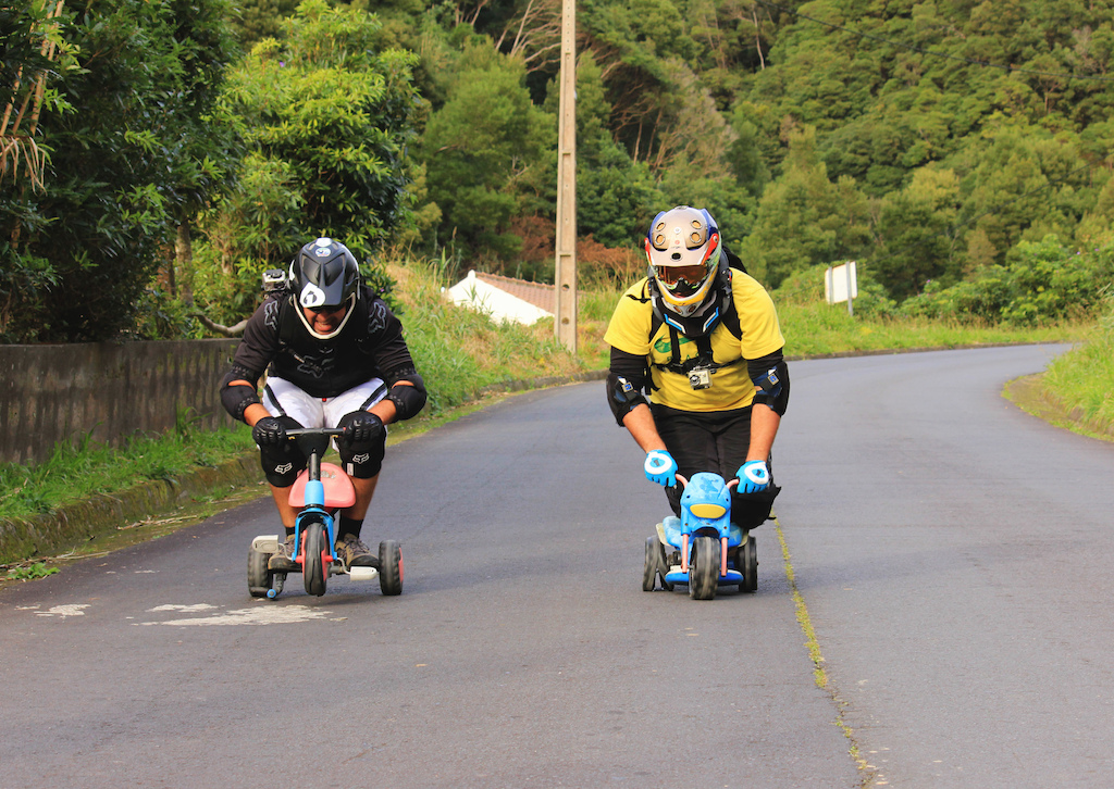 freeriding the Azores Islands