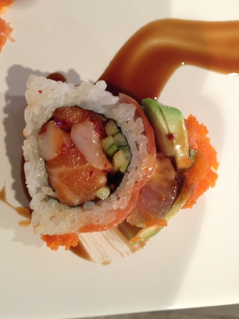 Pinkbike roll at Yale sushi