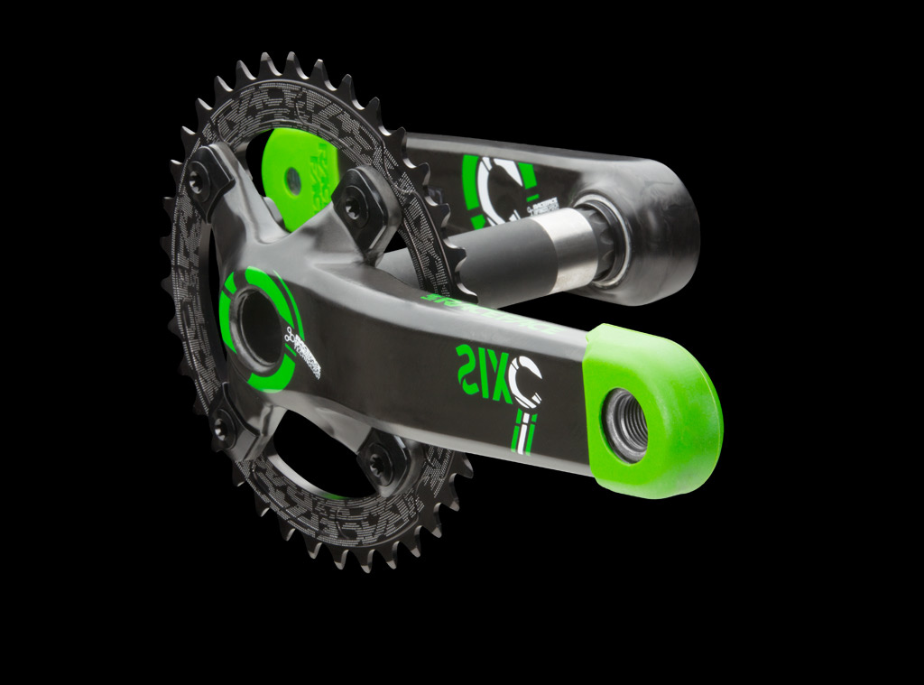 Race Face SixC crank - Green