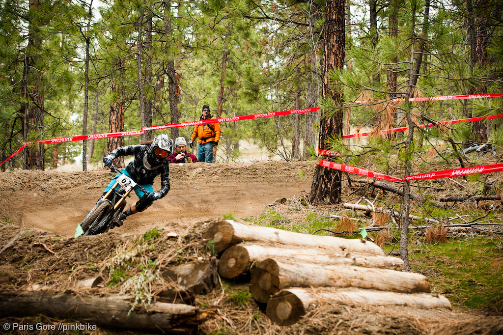Karina Magrath stepped her game up this weekend in Pro class landing in second place on Saturday.