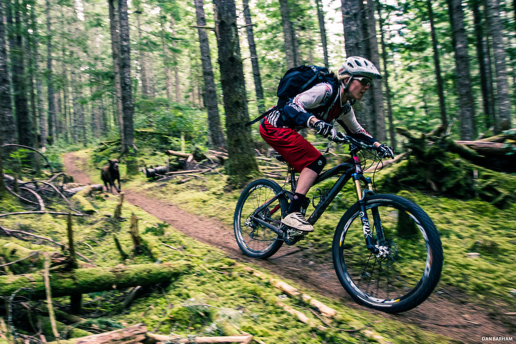 Katrina Strand and Max Squamish BC