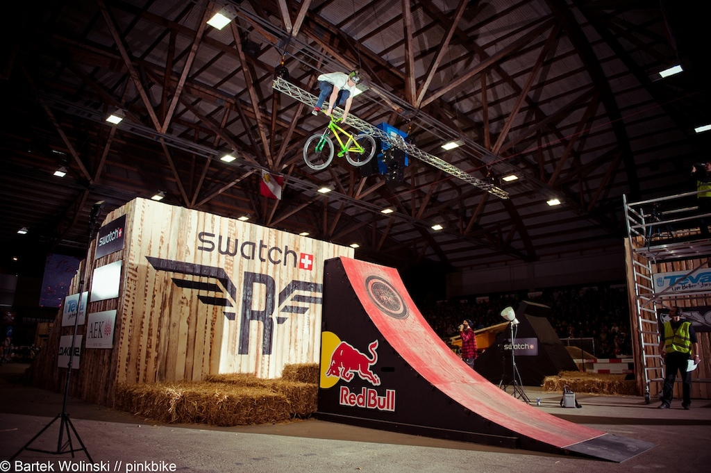 perfect 360 downside whip in his winning run