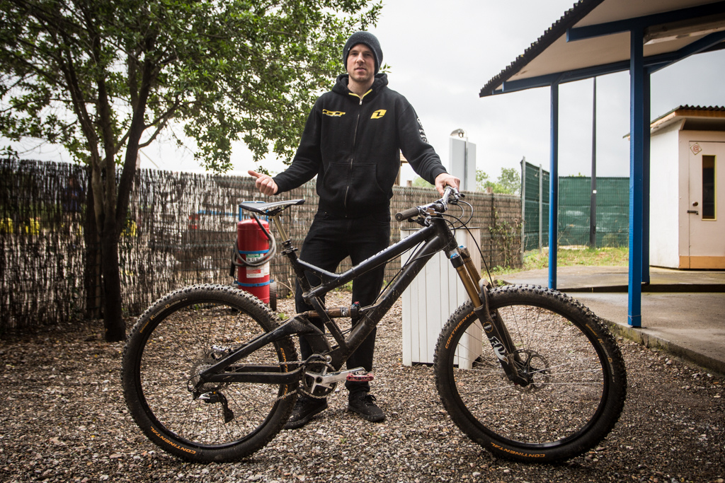 Dan Atherton and his 27.5 GT prototype