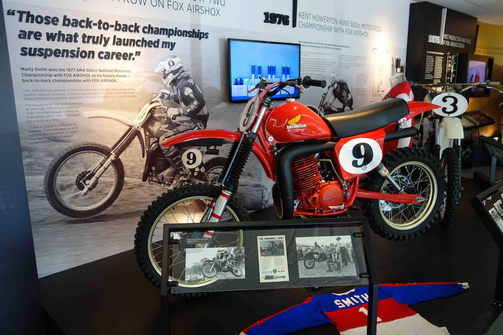 From the Top Bob Fox - Marty Smith s 500cc Honda Motocross racer