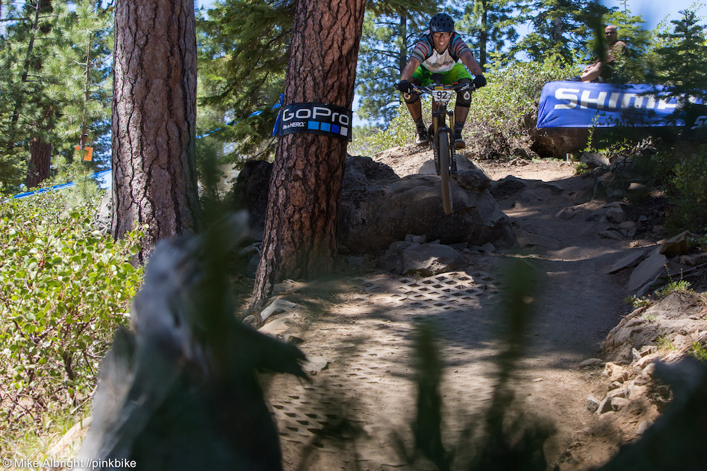 Jess Palacios owns Santiam Bicycles one of the BIke Shop sponsors of the event. Jess is living proof that if you pester the photographer enough you ll get your photo on Pinkbike