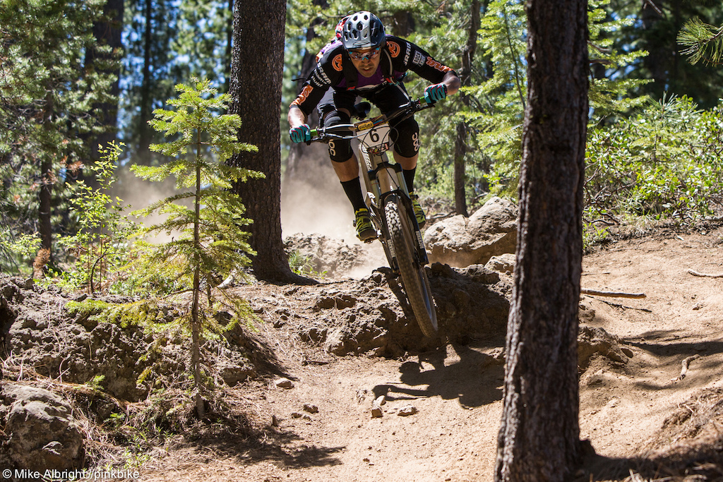 Matthew Slaven had an off day but looked good here on stage 1.