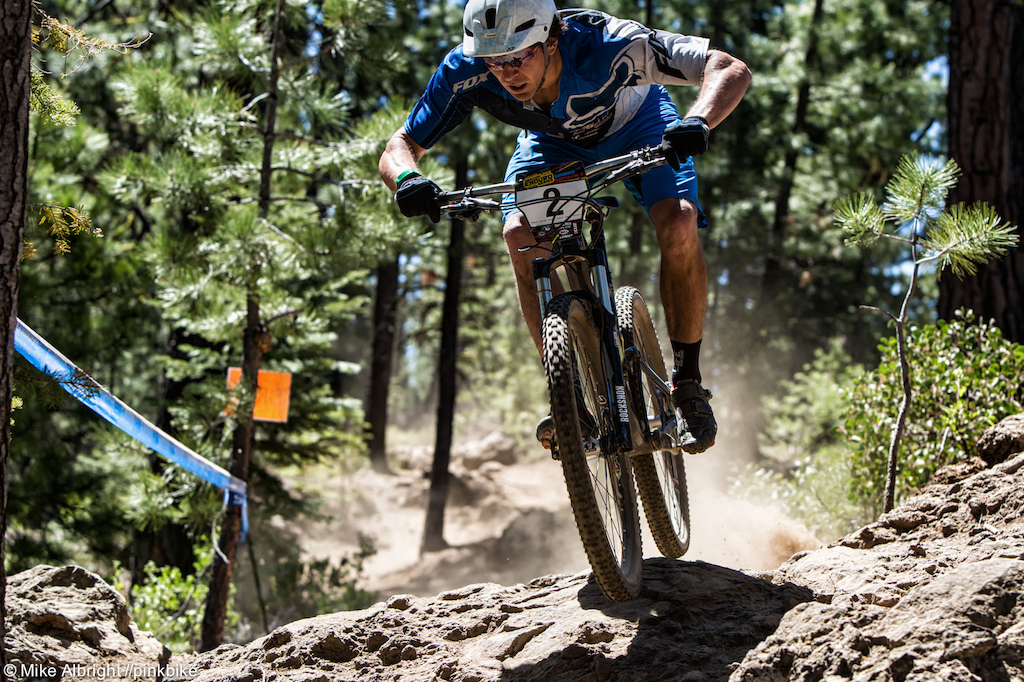 Being a local Adam Craig knows the trails well and it paid off with a win.
