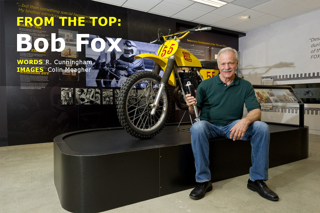 Bob Fox at the opening of the Fox Museum