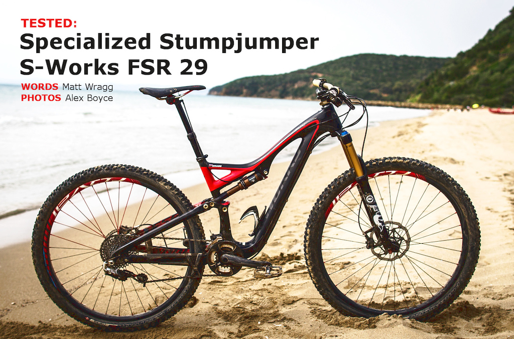Specialized Stumpjumper S-Works FSR 29