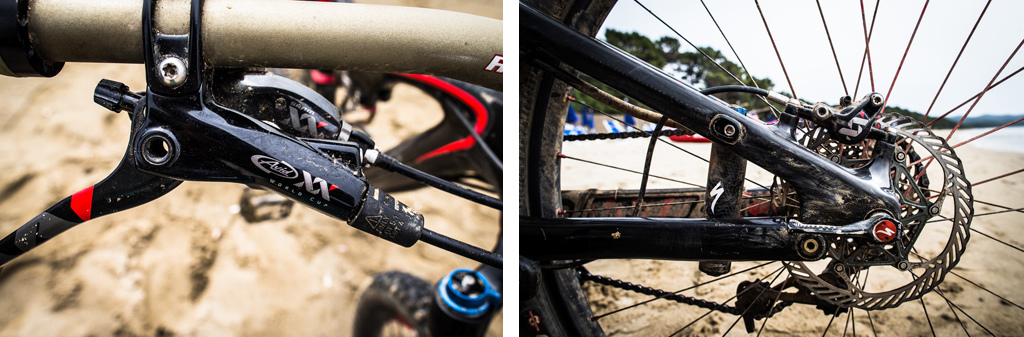 Specialized Stumpjumper S-Works FSR 29 Axid XX brales