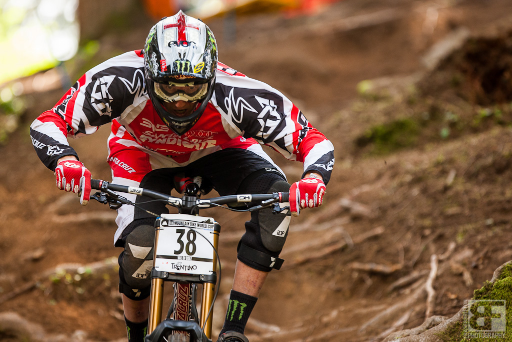 Steve Peat I wish i could tell you what of world cups this man has competed in but it s well into the 3 digits at th every least. Still on it and still itching for a podium.