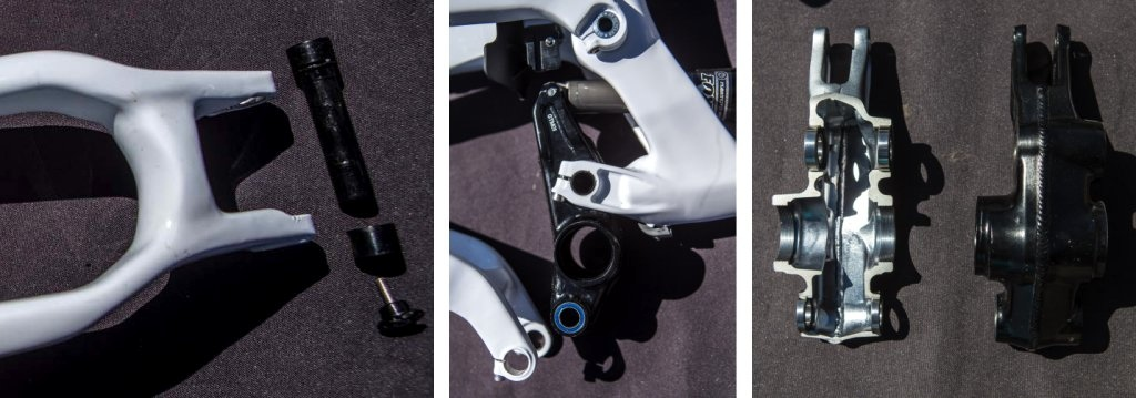GT Sensor Carbon Team suspension details