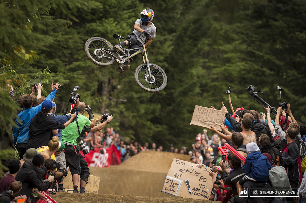 Bernardo Cruz winning whip at Crankworx Whip off 2013