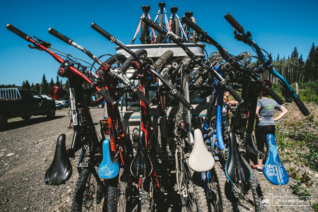 15 bikes total.