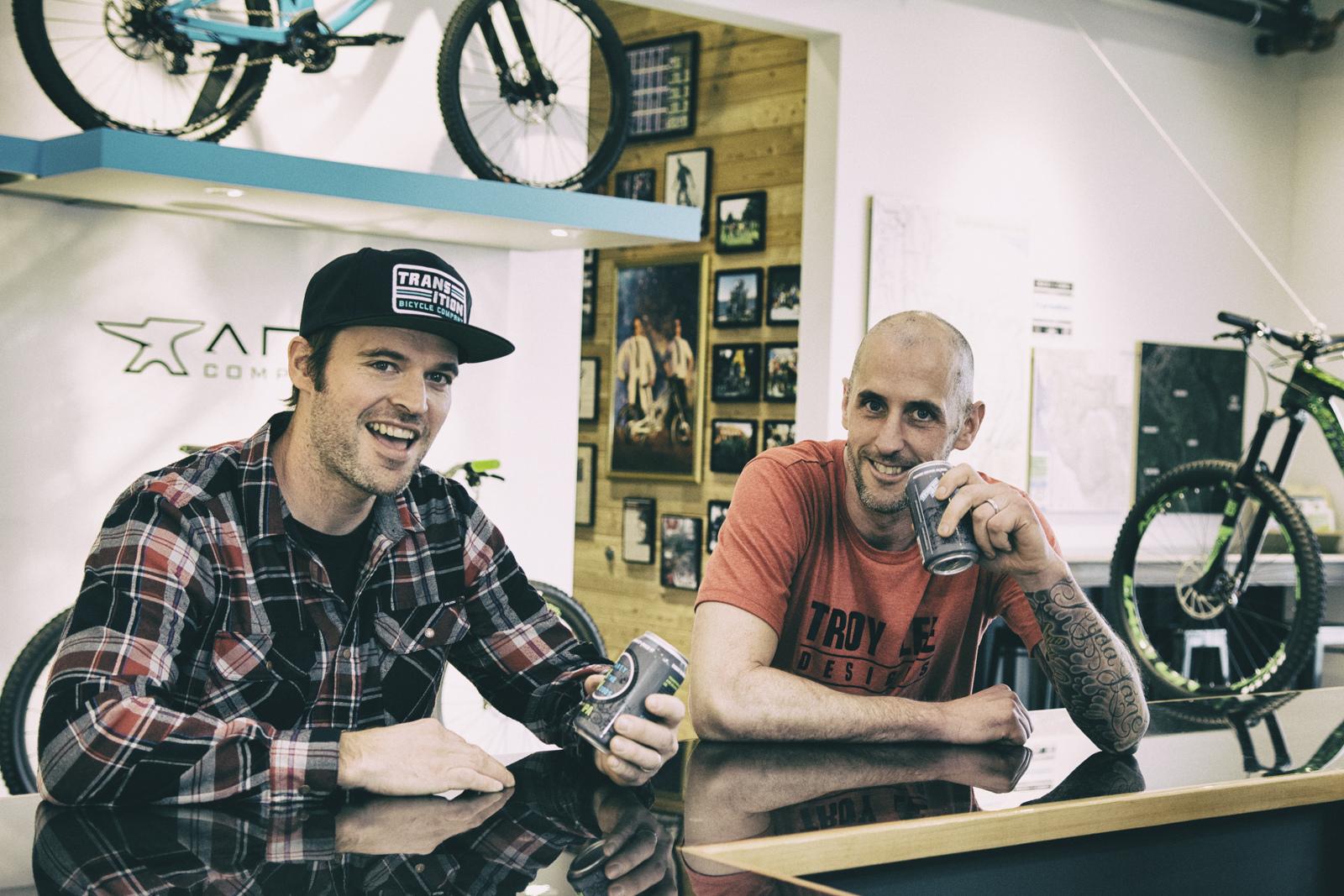 Блог компании ChillenGrillen: История компании Transition Bikes