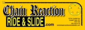 Chain Reaction Ride And Slide logo