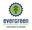 Evergreen - Cascades to Sound Chapter logo