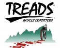 Treads Bicycle Outfitters - Parker logo
