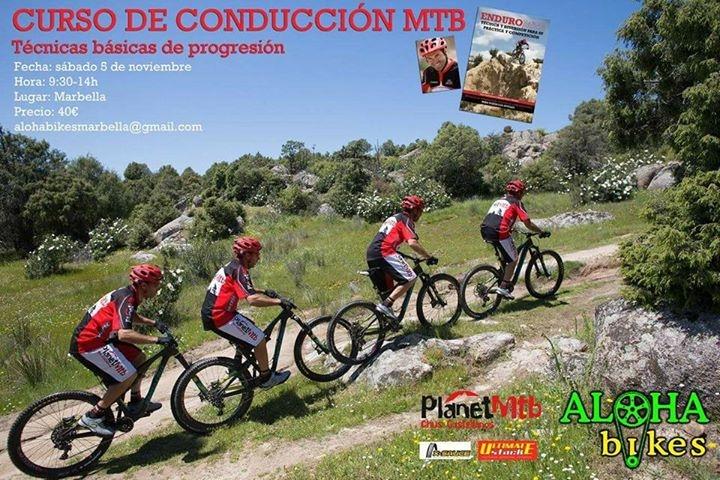 Curso básico técnicas de conducción MTB por Chus Castellanos