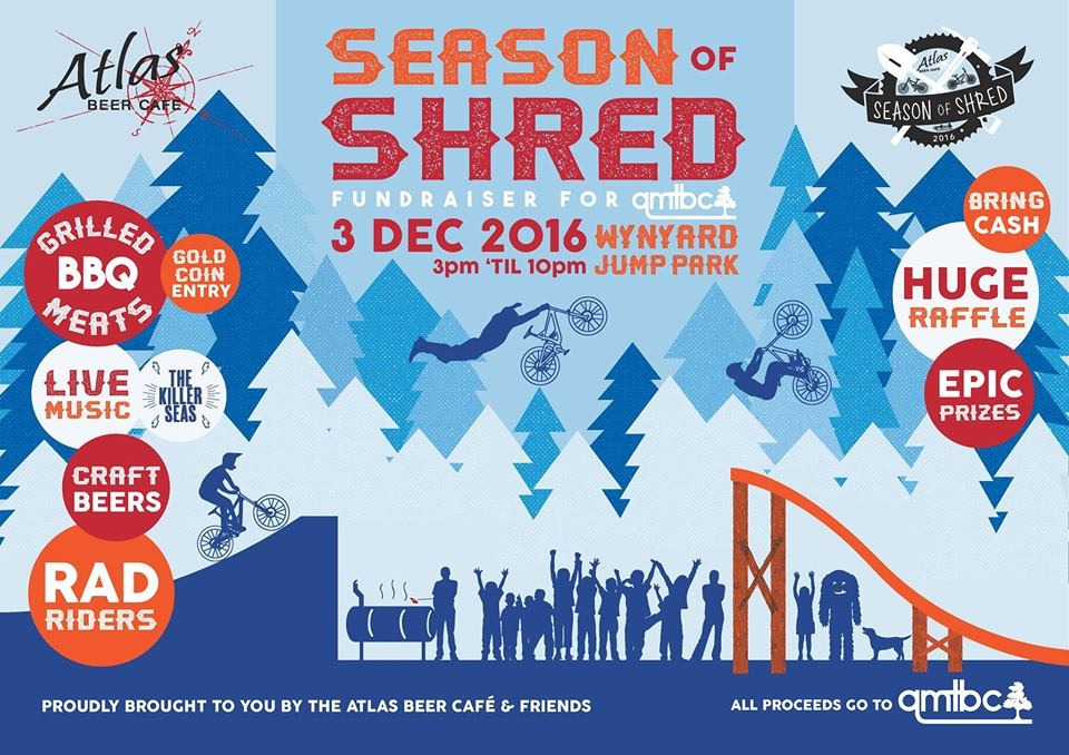 Season of Shred QMTBC Fundraiser