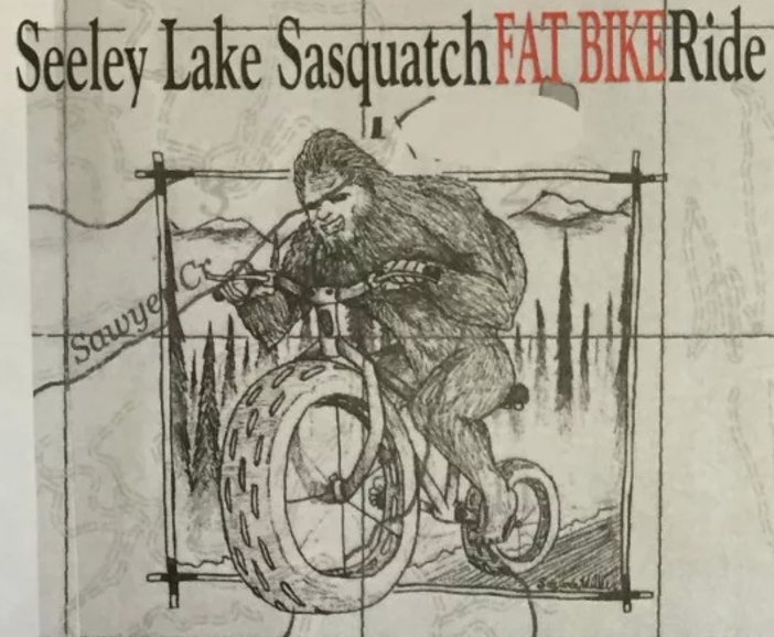 Seeley Lake Sasquatch Fat Bike Ride