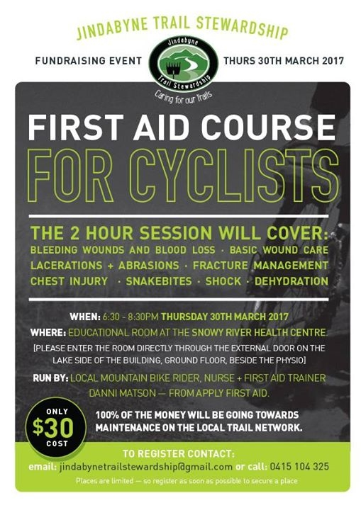 First Aid Course for Cyclists