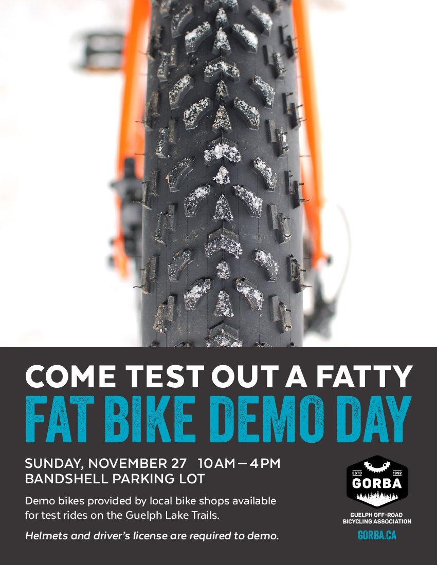GORBA Fat Bike Demo Day