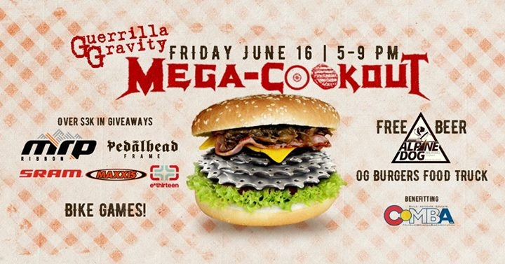 Mega-Cookout and COMBA Benefit!
