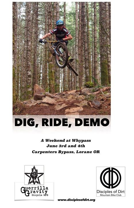 Dig Ride Demo - a Weekend at Whypass